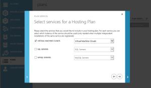plans - services